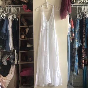 White Tommy Bahama Boho Dress